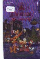 Japan Telefonkarte DISNEY Weihnachten * 110-161161 * CHRISTMAS FANTASY 1994 (4215) Phonecard * TC Japon Métal NOEL - Disney