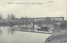 BOURGOGNE - 71 - SAONE ET LOIRE - DIGOIN - Pont Du Chemin De Fer De Digon Au Donjon - Digoin