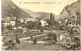 73/CPA - Brides Les Bains - Le Nouveau Parc - Brides Les Bains