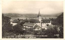 73/CPSM - Aiguebelette - Le - Lac; Vue Générale - Autres Communes
