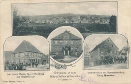 KIRCHENFEMBACH - 1906 , Gruss Aus ... - Germany