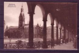 AK HAMBURG - Rathaus Mit Alsterarkaden - Karte Nicht Gel. 1920/1930 - Mitte