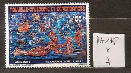 Nouvelle Calédonie PA 185 * Côte 7 € - Luftpost
