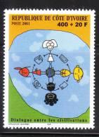 Ivory Coast 2001 UN Dialogue Among Civilisation MNH - Côte D'Ivoire (1960-...)