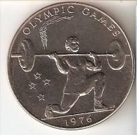 MONEDA DE SAMOA DE 1 TALA DEL A�O 1976 (COIN) SIN CIRCULAR-UNCIRCULATED