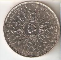 MONEDA DE GRAN BRETAÑA DE 25 PENCE DEL AÑO 1980 (COIN) - 1971-… : Monedas Decimales