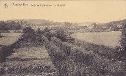 Rendeux - Haut - Jardin De L'hôtel Et Vue Vers Le Village - Rendeux