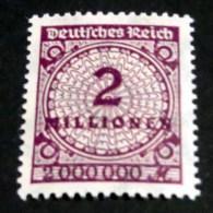 Mi.Nr. 315 Ab Postfrisch, Geprüft Oechsner - Germany