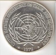 MONEDA DE PLATA DE FILIPINAS DE 25 PISO DEL AÑO 1979 DE NACIONES UNIDAS  (COIN) SILVER-ARGENT - Filipinas