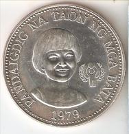MONEDA DE PLATA DE FILIPINAS DE 50 PISO DEL AÑO 1979  (COIN) SILVER-ARGENT - Filipinas