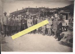 Tranchées Visite De La Mission Roumaine En France Poilus 1914-1918 14-18 Ww1 WWI 1.wk - War, Military
