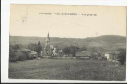 SAINT CLEMENT , VUE GENERALE - Francia