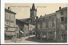 SAINT ANTHEME , RUE DE L' EGLISE - Francia