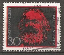 BRD - MI.NR. 558 Gestempelt (M) - Karl Marx