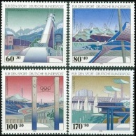 Olympic Games Germany 1994 #1650/3 Lillehammer MNH ** - Hiver 1994: Lillehammer