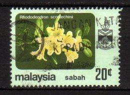 SABAH - 1984/85 YT 38D USED SENZA FILIGRANA - Sabah