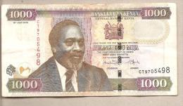 Kenya - Banconota Circolata Da 1000 Scellini P-51e - 2010 - Kenia