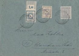 Ostsachsen Brief Mif Minr.52,53 OR, West-Sachsen 131 Niederlungwitz - Sowjetische Zone (SBZ)