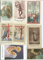 310F    Lot De 10 Images Pieuses + 3 En Cadeau ( 1 Abimée Et 2 Doubles) - Godsdienst & Esoterisme