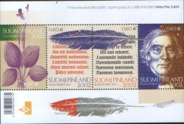 Finlandia Finland 2002 Miniature Sheet  200 Elias Lonnrot - Foglietto 200 Elias Lonnrot  ** MNH - Finlande