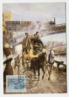 GERMANY - AK 176969 MC - Pc + Stamp - Post Museums Karten - Post Und Eisenbahn (bei Koblenz) - Konlenz - Cartoline Maximum