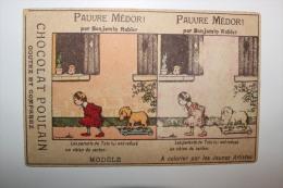 Carte à Colorier Benjamin RABIER Pour Les Chocolats POULAIN - Rabier, B.