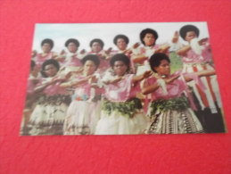 Fiji  9x14 Fijian Meke - Fidji