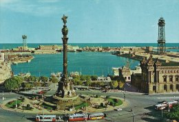 Monument To Christopher Columbus    Port - Harbour - Hafen  Barcelona  Spain  A-2589 - Monuments