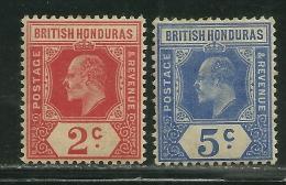 British Honduras        Set       SC# 72-73       Mint     SCV$ 18.75 - British Honduras (...-1970)