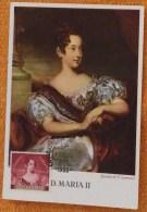 Maximum D. Maria II - Portugal Queen - Lisboa 1953 - Lawrence Painting - Beroemde Vrouwen