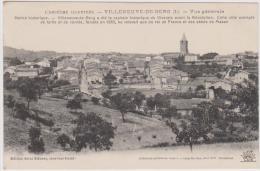 CPA   VILLENEUVE-DE-BERG     Vue Générale - Ohne Zuordnung