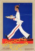 DEN HAAG (Pays Bas) Carte Publicitaire Illustrée Indisch Restaurant Waroong Djawa - Den Haag ('s-Gravenhage)