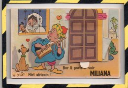 MILIANA. - . FLIRT AFRICAIN - BOR LI PORTE TI VOIR. BOZZ - A Systèmes