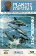 Planète Cousteau - Lot De 3 Cassettes La Grande Aventure De La Mer - Documentaire