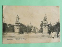 BARCELONA - Entrada Al Parque - Barcelona