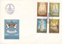 PORTUGAL 1967 MICHEL NO: 1029-32  FDC - FDC