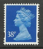 GB 1999 QE2 38p Ultramarine Machin No Gum SG Y1707....( E543  ) - 1952-.... (Elisabeth II.)
