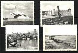 4 Chromo's Ken Uw Land De Beukelaar Zeebrugge 117-2 119-5 144-1 147-2 Môle Anker Vismijn Havenmuur - Géographie