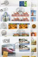 Messe-Briefe 2006 Germany SST 75€ MBrf. 1-10 EXPO In London Italy Washington Paris Salzburg Prag Malaga Dubai Brüssel - Stamps