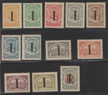 O) 1920 COLOMBIA, CONSULARES ITALY, NG, MNH. - Colombie