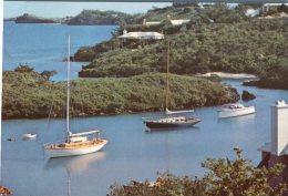 (765) Australia - Bermuda - QANTAS Postcard - Aerei