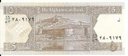 AFGHANISTAN 5 Afghanis 2002 UNC P 66 - Afghanistan