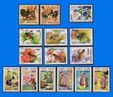VN 1993-0001, Year Set, CTO/MNH (7 Scans) - Vietnam