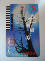 Xerox Prepaid Copy Card: Beauty Of Taiwan Trees #22971 - Phonecards