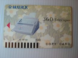 Xerox Prepaid Copy Card: 360 Telecopier, USED - Phonecards