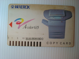 Xerox Prepaid Copy Card: Acolor 635, USED - Phonecards