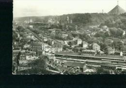 Longwy La Gare Bahnhof Station Vue Sur Usines De Senelle 17.9.1957 - Longwy