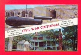 U.S.A.  SOUTH CAROLINA  -  SULLIVAN ISLAND  -  42966  Fort Sumter - Etats-Unis