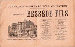 - Catalogue De La COMPAGNIE GENERALE D'ALIMENTATION, BESSEDE FILS à MARSEILLE - 198 - Autres Collections