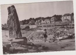 BATZ SUR MER ..LE MENHIR ET LA PLAGE - Batz-sur-Mer (Bourg De B.)